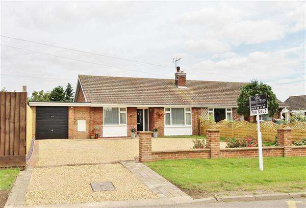 2 Bedrooms Semi Detached Bungalow for sale in The Bungalow, Gonerby Lane, Grantham