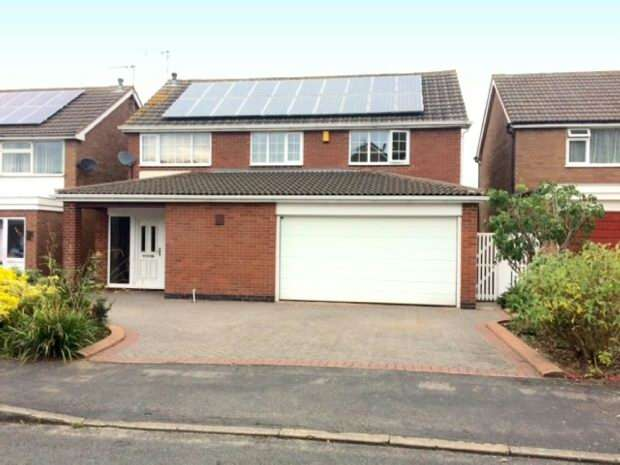 4 Bedrooms Detached House for sale in Hamlet Close, Whitestone, Nuneaton