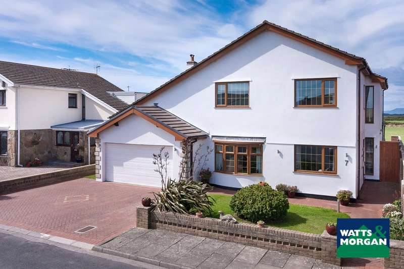4 Bedrooms Detached House for sale in 7 Long Acre Court, Nottage, Porthcawl, Bridgend County Borough, CF36 3TJ.