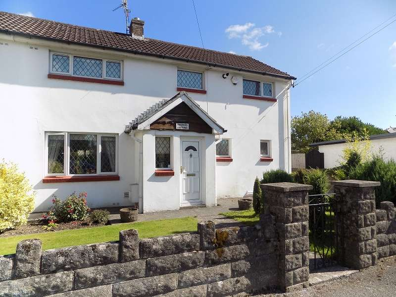 3 Bedrooms Semi Detached House for sale in Orchard Cottage Main Road, Coychurch, Bridgend. CF35 5EL