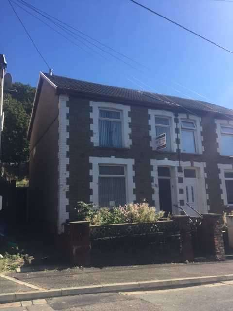 3 Bedrooms Semi Detached House for sale in Charles Street, Porth, Porth