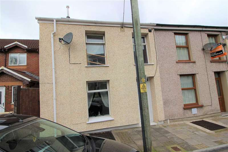 2 Bedrooms End Of Terrace House for sale in Cornwall Road, Williamstown, Tonypandy