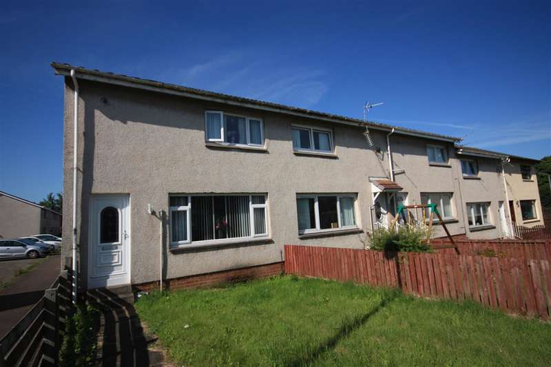 2 Bedrooms End Of Terrace House for sale in Tarbolton Path, Larkhall