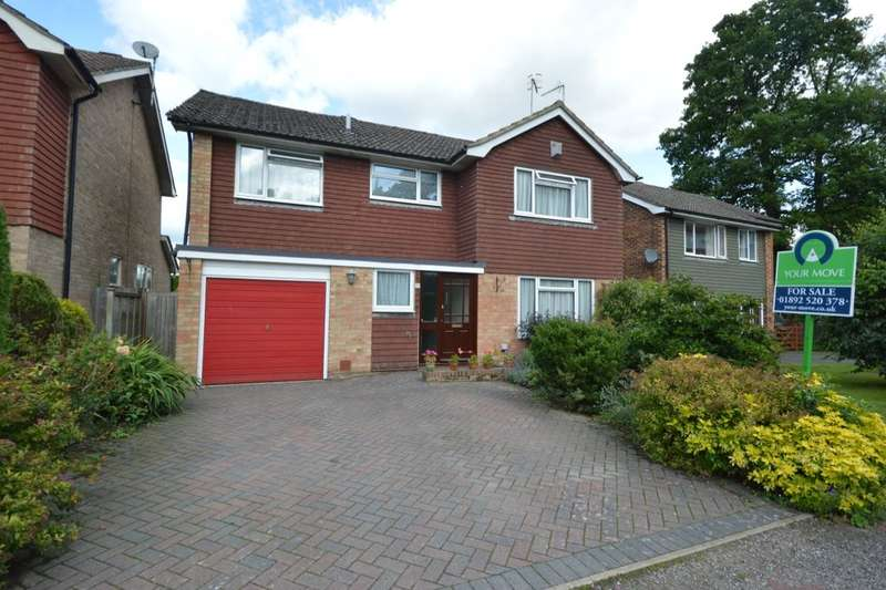 4 Bedrooms Detached House for sale in Springhead, Tunbridge Wells, TN2