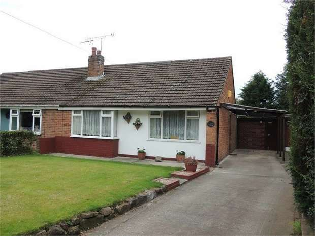 2 Bedrooms Semi Detached Bungalow for sale in Town Well, Kingsley, Frodsham, Cheshire