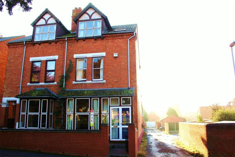 4 Bedrooms Semi Detached House for sale in St Stephens Street, Worcester, WR3