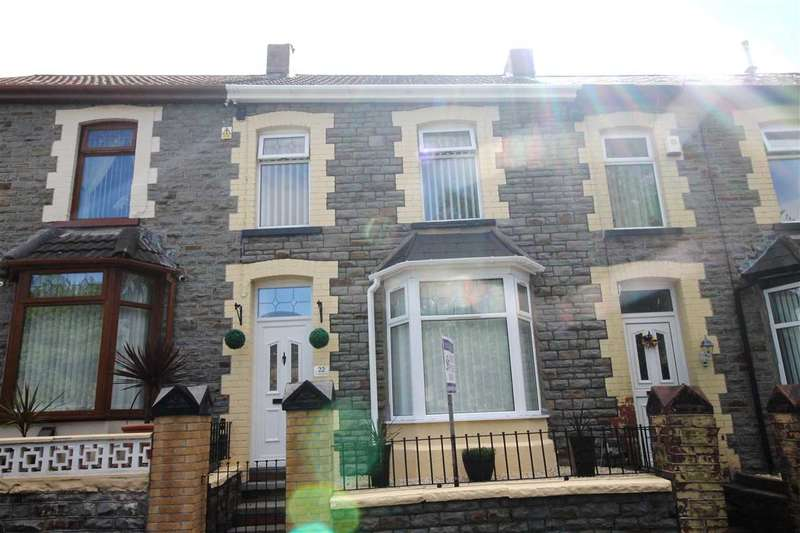 3 Bedrooms Terraced House for sale in Coronation Tce, Porth, Porth