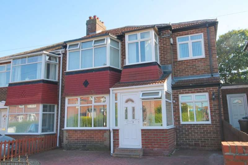 4 Bedrooms Semi Detached House for sale in Western Avenue, West Denton, Newcastle Upon Tyne, NE5