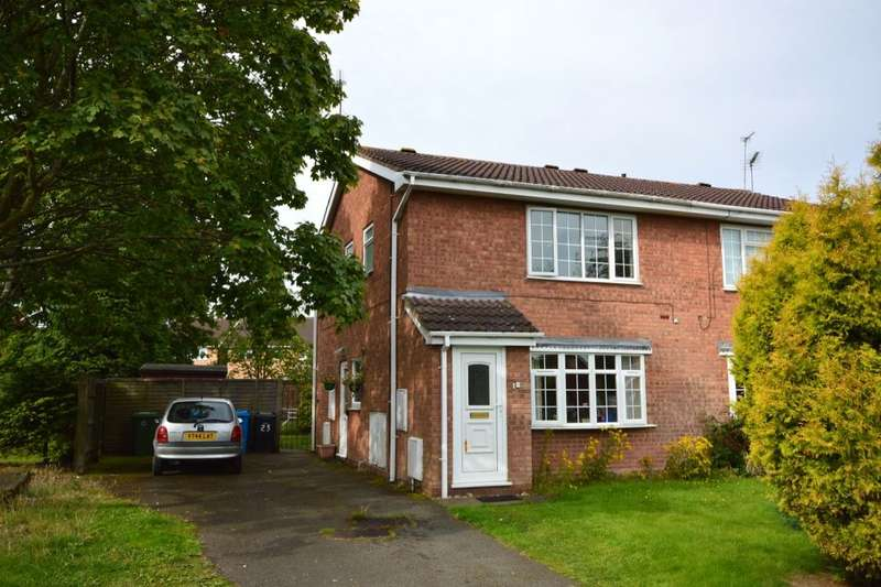 1 Bedroom Flat for sale in Worcester Grove, Perton, Wolverhampton, WV6