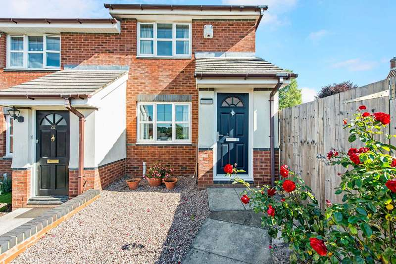 2 Bedrooms Semi Detached House for sale in Emperor Close, Berkhamsted