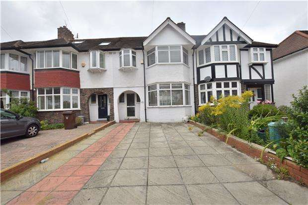 3 Bedrooms Terraced House for sale in Windermere Avenue, LONDON, SW19 3ER