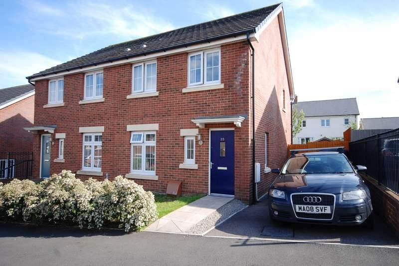 3 Bedrooms Semi Detached House for sale in Bryn Celyn, Llanharry