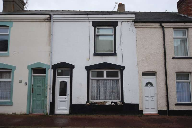 2 Bedrooms Terraced House for sale in Florence Street, Barrow-in-Furness, Cumbria, LA14 2DB