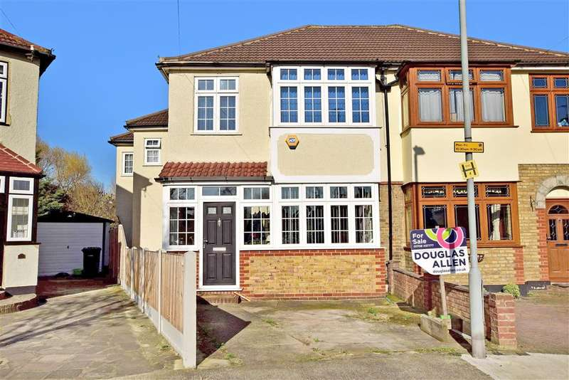 5 Bedrooms Semi Detached House for sale in Sussex Avenue, Harold Wood, Essex