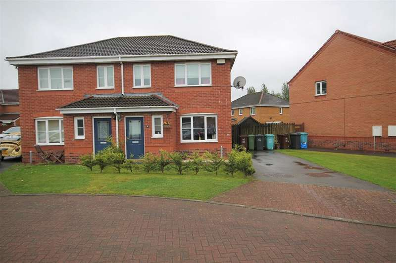 3 Bedrooms Semi Detached House for sale in Borthwick Place, Gartcosch, Gartcosh