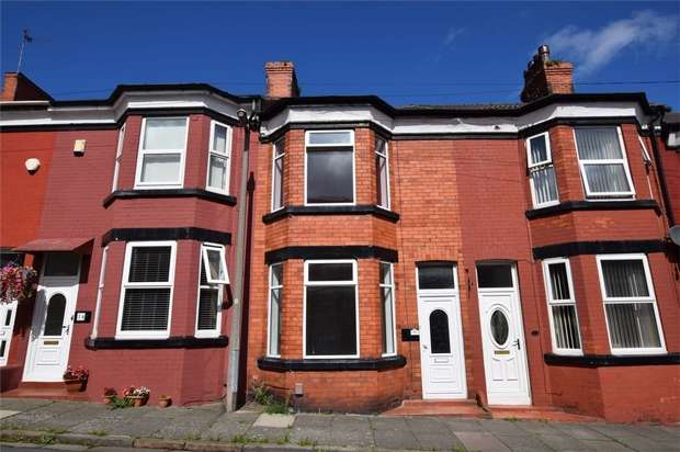3 Bedrooms Terraced House for sale in Onslow Road, New Ferry
