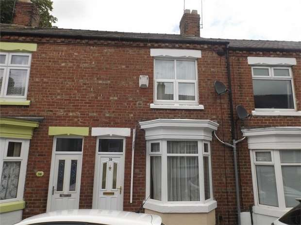 2 Bedrooms Terraced House for sale in Columbia Street, Darlington, Durham
