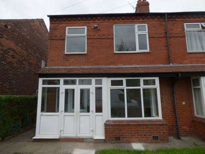 3 Bedrooms Semi Detached House for sale in Chandos Road, Heaton Chapel, Stockport, Cheshire