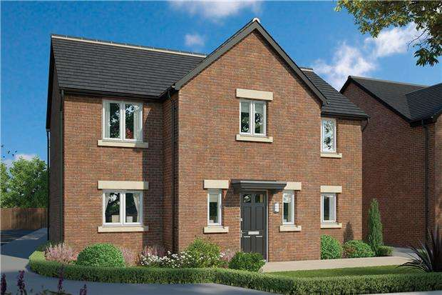 4 Bedrooms Detached House for sale in The Walton, Hardwicke Grange, Gloucester.