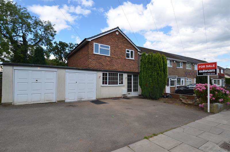 3 Bedrooms Detached House for sale in Druids Lane, Druids Heath, Birmingham