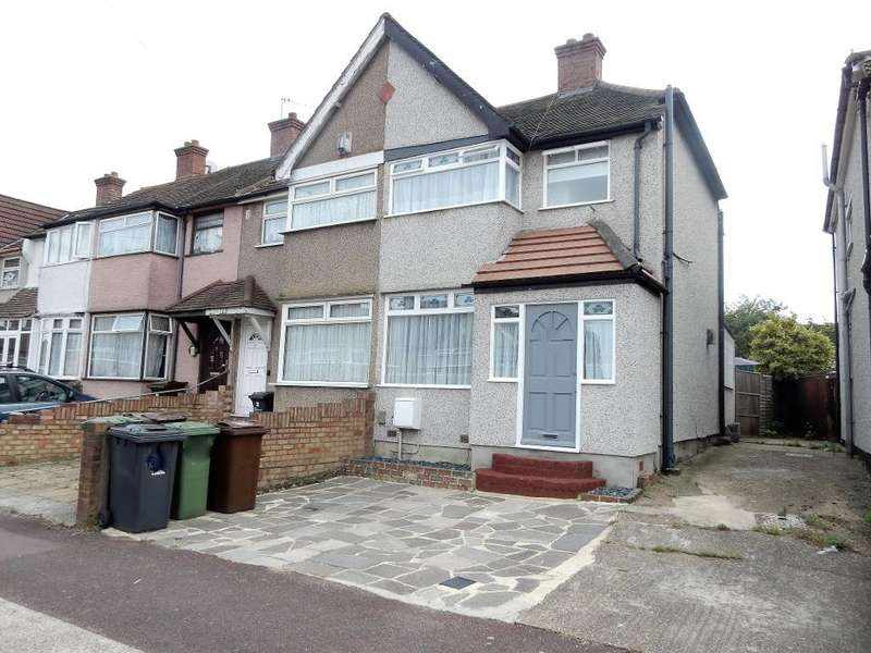 2 Bedrooms End Of Terrace House for sale in Oval Road North, Dagenham, Essex, RM10 9EL