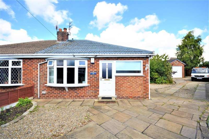2 Bedrooms Semi Detached Bungalow for sale in Ribble Close, Freckleton, Preston, Lancashire, PR4 1RR