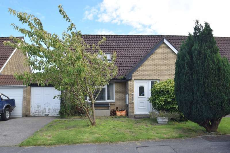 3 Bedrooms Semi Detached Bungalow for sale in 67 Hunters Ridge, Brackla, Bridgend, Bridgend County Borough, CF31 2LJ.