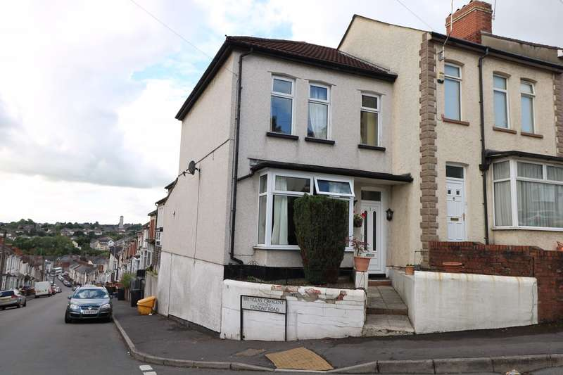 3 Bedrooms End Of Terrace House for sale in Brynglas Crescent, Newport, NP20