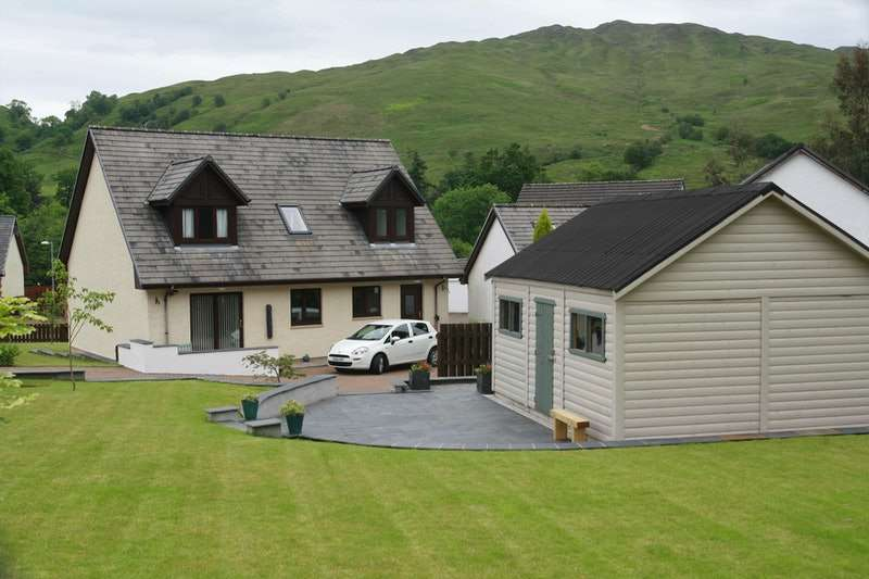 4 Bedrooms Detached House for sale in Tynribbie Place, Tynribbie, Appin, Argyllshire, PA38