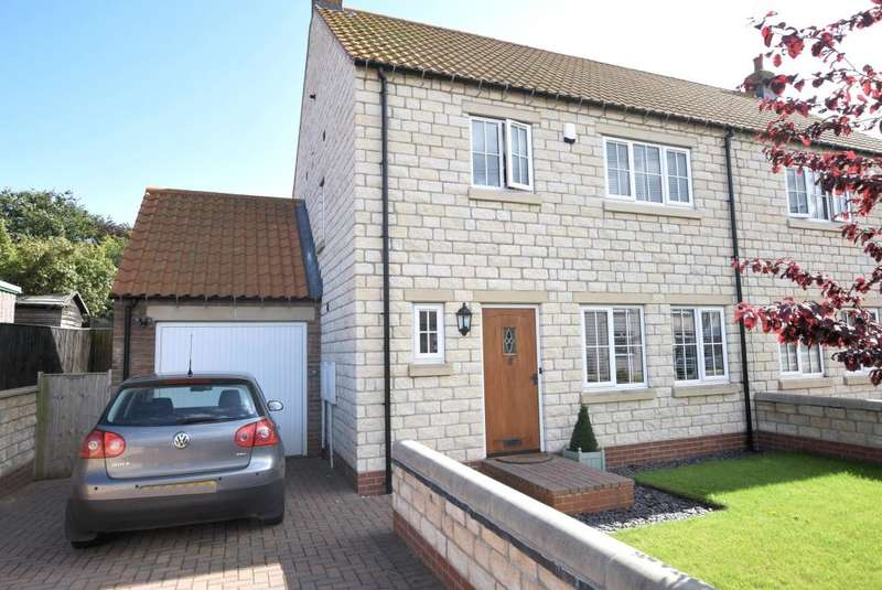 3 Bedrooms Semi Detached House for sale in Eastgate, Seamer, Scarborough, North Yorkshire YO12 4RB