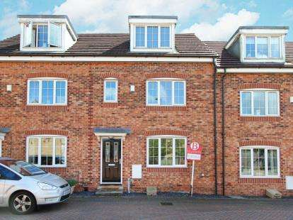 4 Bedrooms Town House for sale in Greenacre Way, Gleadless, Sheffield