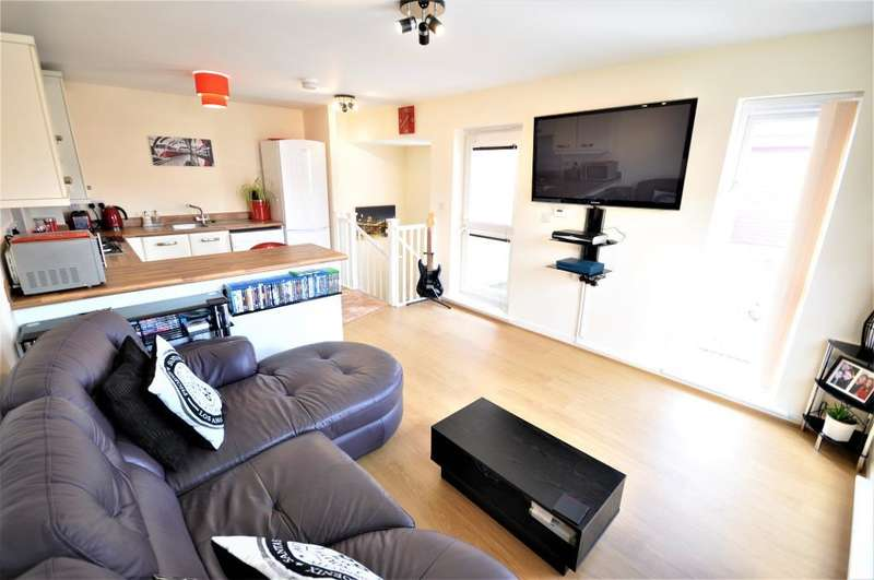1 Bedroom Semi Detached House for sale in Springwater Close, Buckshaw Village, Chorley, Lancashire, PR7 7FF