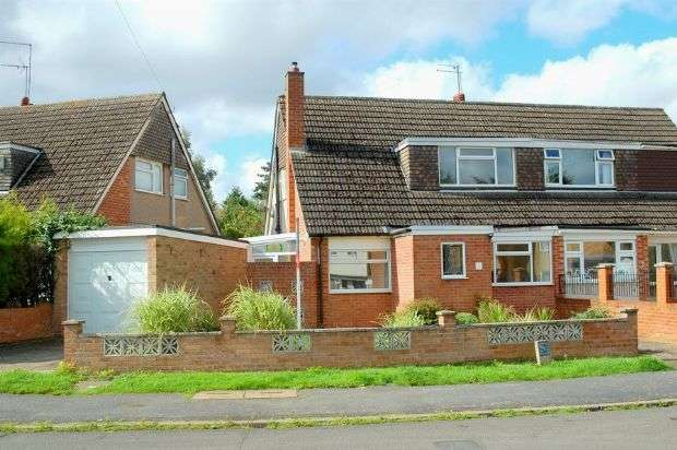 3 Bedrooms Semi Detached House for sale in Grafton Way, Duston, Northampton NN5 6NQ