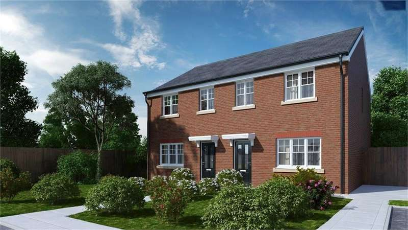 3 Bedrooms Semi Detached House for sale in Vicarage Gardens, Platt Bridge, Wigan, WN2