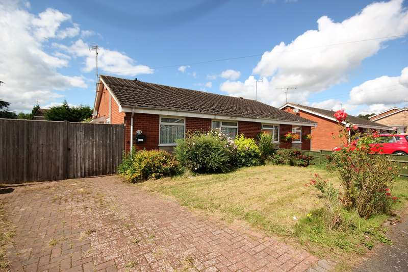 2 Bedrooms Semi Detached Bungalow for sale in Dawson Close, Lowerwick, Worcester, WR2