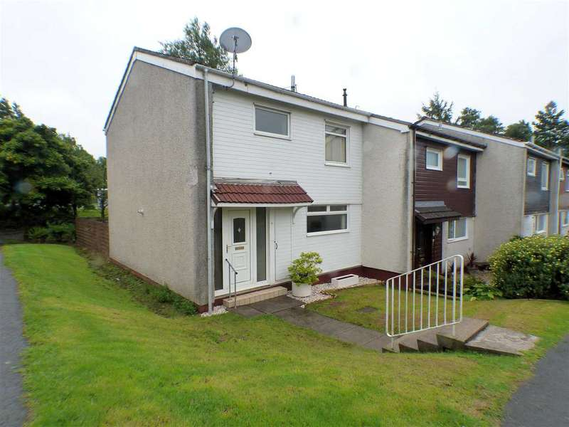3 Bedrooms End Of Terrace House for sale in Plover Drive, Greenhills, EAST KILBRIDE