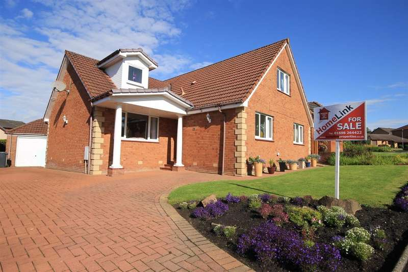 5 Bedrooms Detached House for sale in Morris Crescent, Dalziel Park, Motherwell
