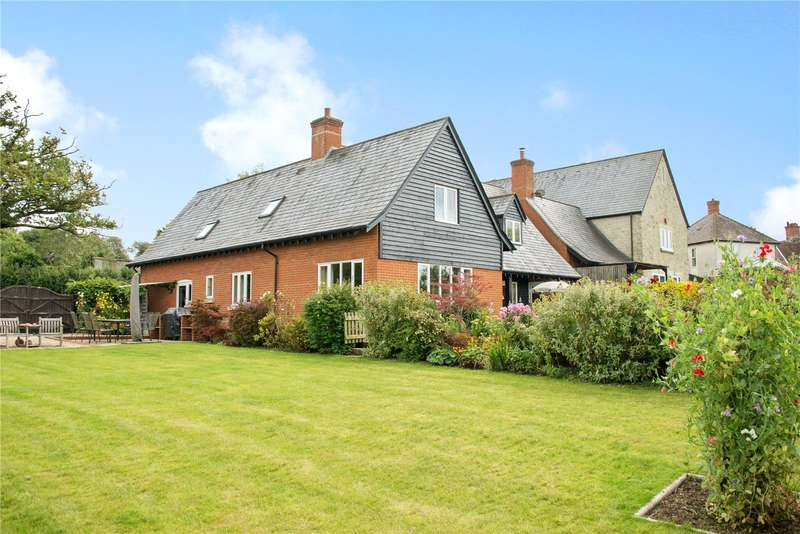 4 Bedrooms Detached House for sale in Long Cross, Shaftesbury, Dorset, SP7