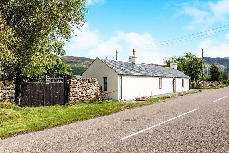 2 Bedrooms Detached House for sale in Dundonnell, Garve, IV23