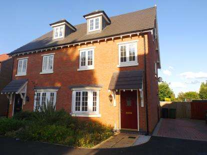 3 Bedrooms Semi Detached House for sale in Charlotte Way, Netherton, Peterborough, Cambs