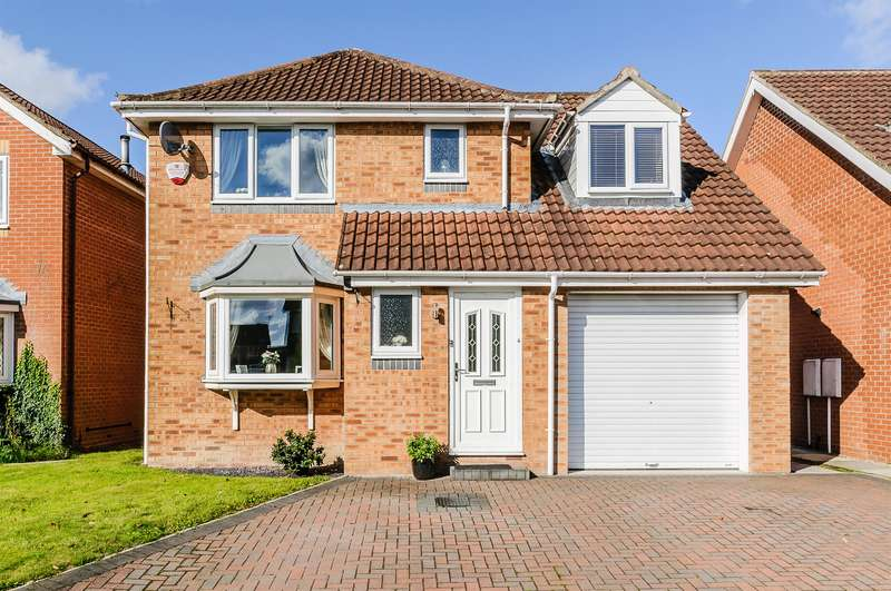 4 Bedrooms Detached House for sale in Blenheim Court, York, YO30 5WD