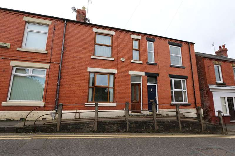 3 Bedrooms Terraced House for sale in Castle Street, Caergwrle, Wrexham, Flintshire, LL12 9DS