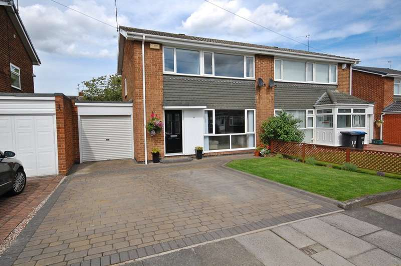 3 Bedrooms Semi Detached House for sale in Rochester Road, Newton Hall, Durham