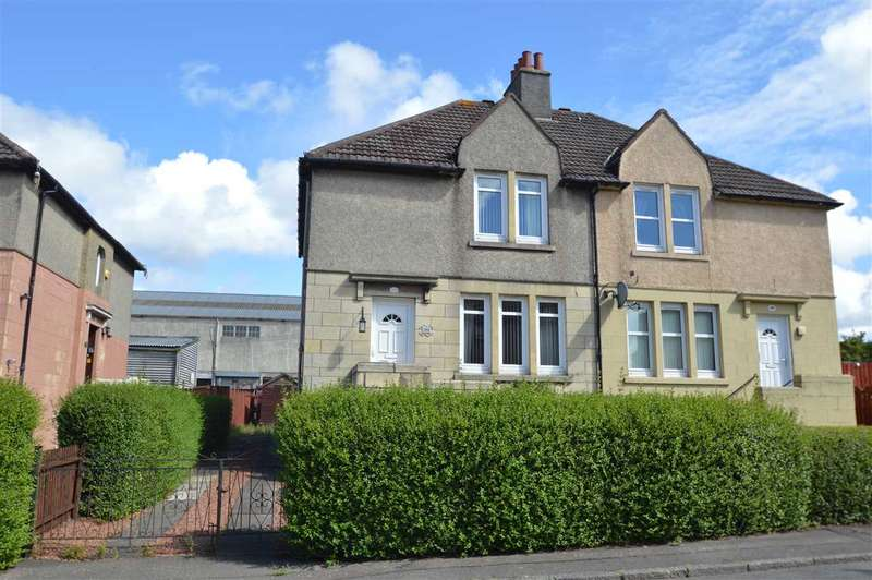 3 Bedrooms Semi Detached House for sale in Glasgow Road, Hamilton
