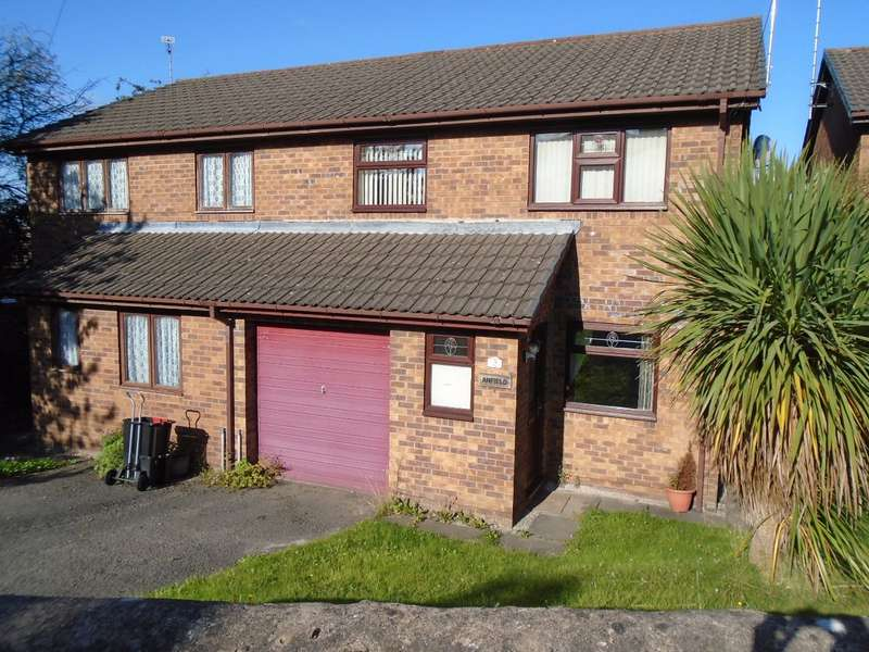 3 Bedrooms Semi Detached House for sale in Waen Road, Coedpoeth, Wrexham, LL11 3PP