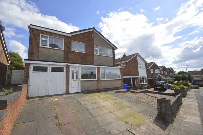 4 Bedrooms Detached House for sale in Westsprink Crescent, Stoke-On-Trent, ST3