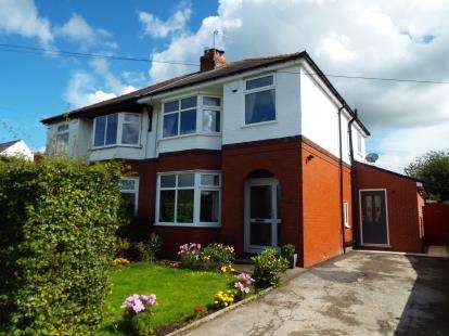 3 Bedrooms Semi Detached House for sale in Fox Lane, Hoghton, Preston, Lancashire