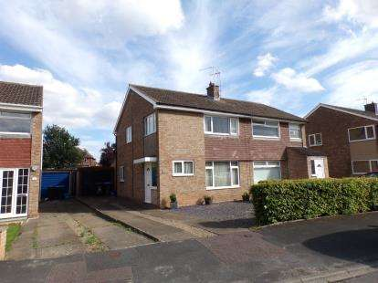 3 Bedrooms Semi Detached House for sale in St Paulinus Drive, Northallerton