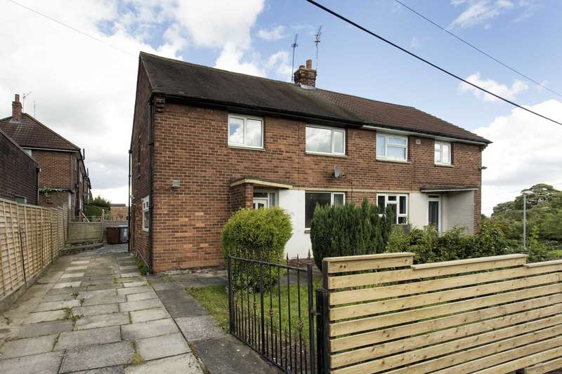 3 Bedrooms Semi Detached House for sale in 1 Springbank Crescent, Gildersome, LS27 7DN