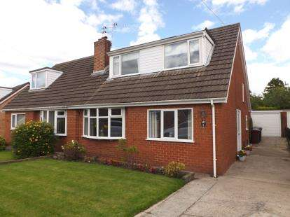 3 Bedrooms Semi Detached House for sale in Pope Walk, Penwortham, Preston, PR1